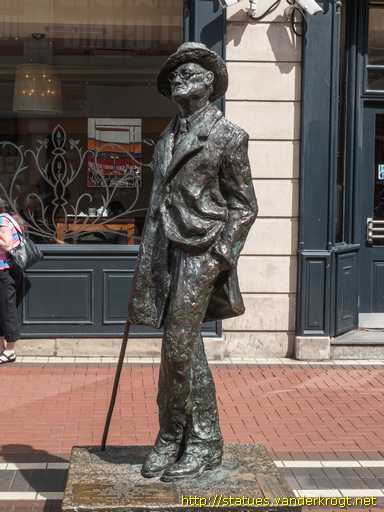 The imagery used in the works of 20th century irish writer james joyce