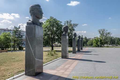 Moscow - Москва - Аллея Героев космоса 568cf6a5f54